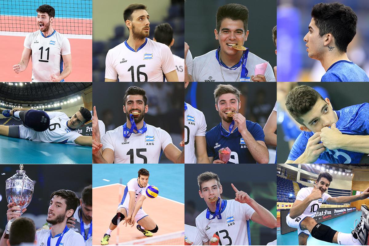 jugadores destacados del voleibol nacional