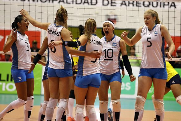Gran arranque de Las Panteras en el Premundial: Triunfo 3-0 sobre Colombia